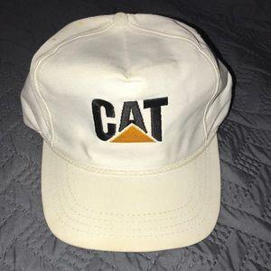 80's CAT cap. Vintage Caterpillar hat. Cat hat